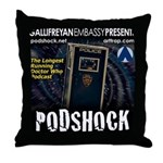 Podshock Throw Pillow