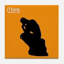The Thinker Tile Coaster