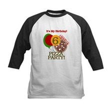 6th Pizza Party Birthday Tee