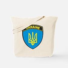 Ukraine Shield Tote Bag