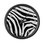 Zebra Large Wall Clock