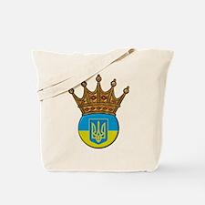 King Of Ukraine Tote Bag