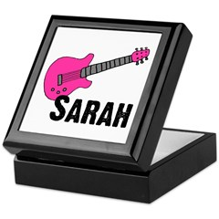 Guitar - Sarah Keepsake Box