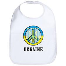 Peace In Ukraine Bib
