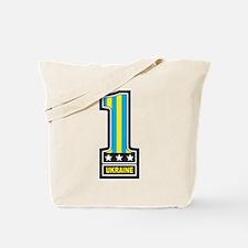 Number One Ukraine Tote Bag