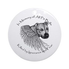 """In Memory"" Ornament (Round)"