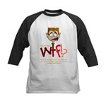 Obama WTF!? Design 2 Kids Baseball Jersey