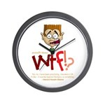 Obama WTF!? Design 2 Wall Clock