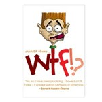 Obama WTF!? Design 2 Postcards (Package of 8)