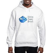 Colon Cancer Blows Hoodie