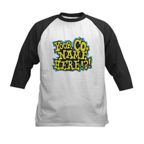 Your Co. Name Here!?! Kids Baseball Jersey