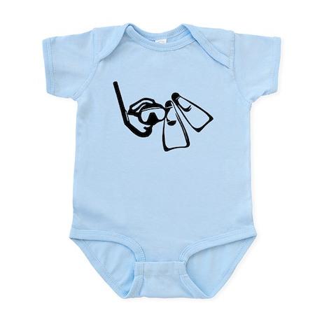 Diving Set Infant Bodysuit