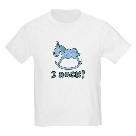 I Rock - Boys Kids Light T-Shirt