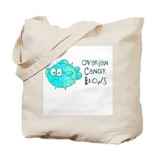 Ovarian Cancer Blows Tote Bag