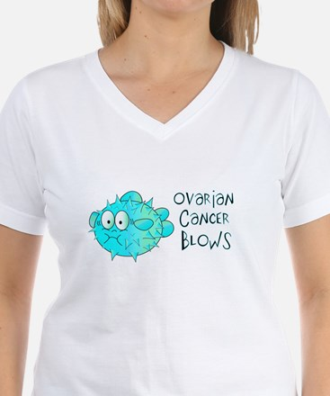 Ovarian Cancer Blows Shirt