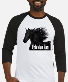 Friesian Fan Baseball Jersey