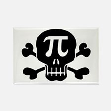 Pi Rate Rectangle Magnet