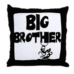 Big Brother (Monkies) Throw Pillow
