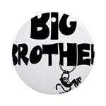 Big Brother (Monkies) Ornament (Round)