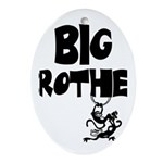 Big Brother (Monkies) Oval Ornament