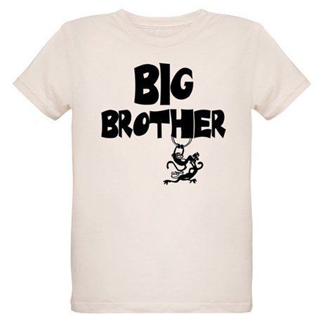 Big Brother (Monkies) Organic Kids T-Shirt