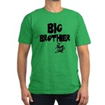 Big Brother (Monkies) Men's Fitted T-Shirt (dark)
