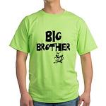 Big Brother (Monkies) Green T-Shirt
