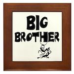 Big Brother (Monkies) Framed Tile