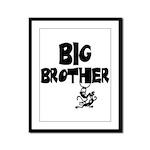 Big Brother (Monkies) Framed Panel Print