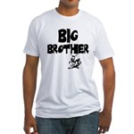 Big Brother (Monkies) Fitted T-Shirt