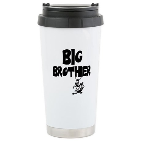 Big Brother (Monkies) Stainless Steel Travel Mug