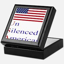 Un Silenced American Keepsake Box