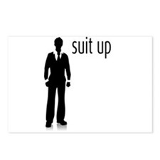 Suit Up Postcards (Package of 8)
