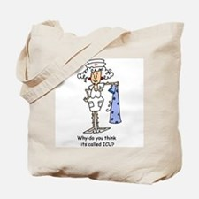 Funny Nurse Three Tote Bag