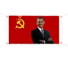 Funny Obama comrade Banner