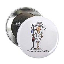 "Funny Nurse Four 2.25"" Button"