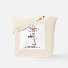 Funny Nurse Five Tote Bag