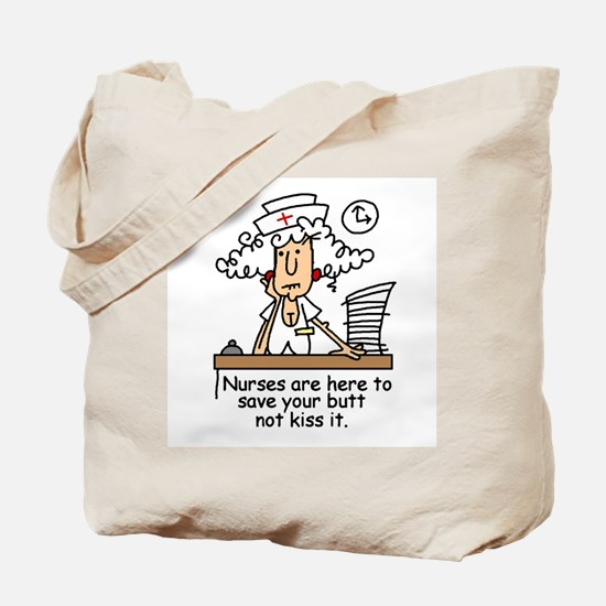 Funny Nurse Six Tote Bag