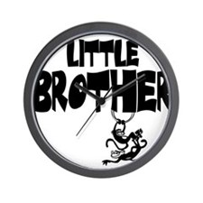 Little Brother (Monkies) Wall Clock