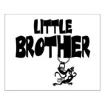Little Brother (Monkies) Small Poster