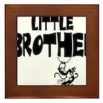 Little Brother (Monkies) Framed Tile