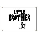 Little Brother (Monkies) Banner