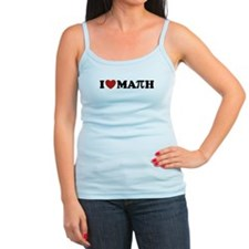 I Love Math Pi Jr.Spaghetti Strap