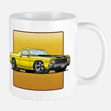 Yellow w/Black Stripes El Camino Mug