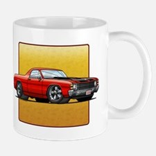 Red w/Black Stripes El Camino Mug
