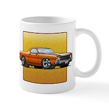 Orange w/White Stripes El Cam Mug