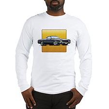Black w/White Stripes El Cami Long Sleeve T-Shirt