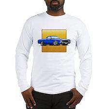 Blue w/White Stripe El Camino Long Sleeve T-Shirt