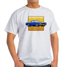 Blue w/White Stripe El Camino T-Shirt