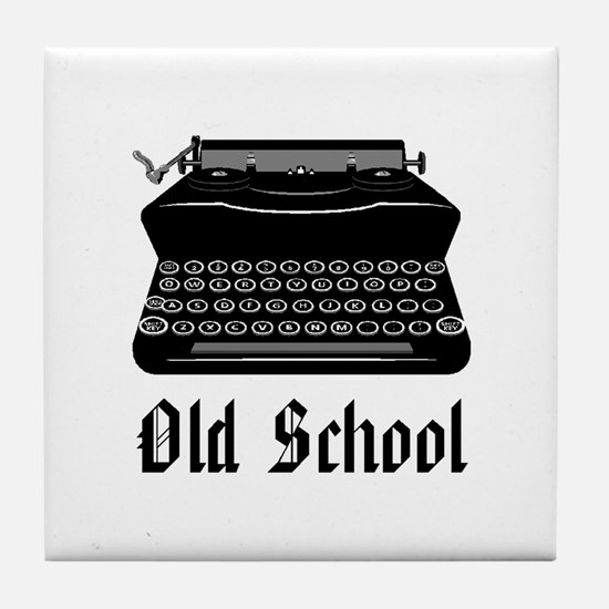 OLD SCHOOL 2 Tile Coaster